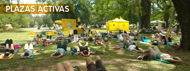Plazas Activas en la Ciudad de Buenos Aires